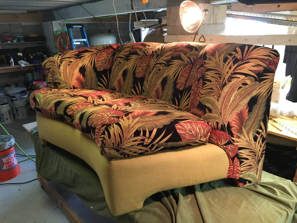 Monnier's Finished Couch